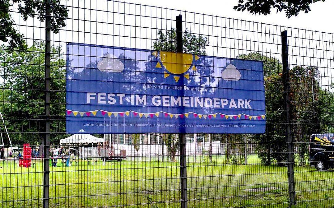 Richtig gut gelungen – Fest im Gemeindepark Lankwitz war ein Erfolg